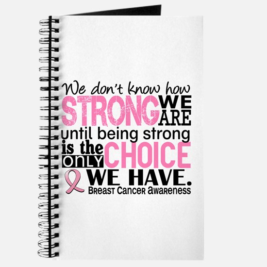 Breast Cancer HowStrongWeAre Journal