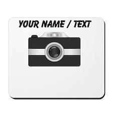 Custom Black Camera Mousepad
