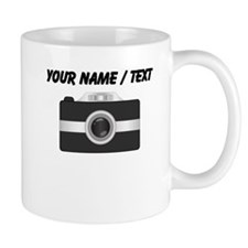 Custom Black Camera Mugs