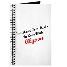 In Love with Alyson Journal