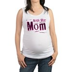 Pink Rock Star Mom Maternity Tank Top