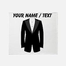 Custom Tuxedo Throw Blanket