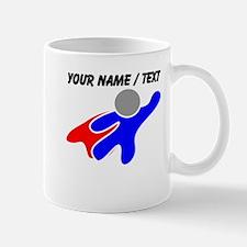 Custom Flying Super Hero Mugs