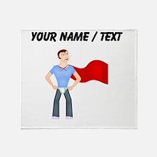 Custom Super Dude Throw Blanket