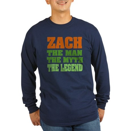 ZACH - The Legend Long Sleeve Dark T-Shirt