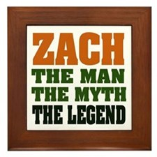 ZACH - The Legend Framed Tile