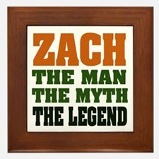 ZACH - The Legend Framed Tile