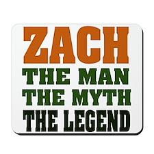 ZACH - The Legend Mousepad