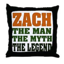 ZACH - The Legend Throw Pillow