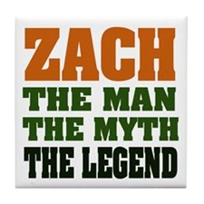 ZACH - The Legend Tile Coaster