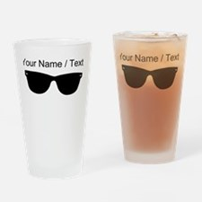 Custom Sunglasses Drinking Glass
