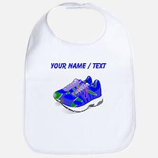 Custom Blue Running Shoes Bib