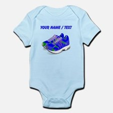 Custom Blue Running Shoes Body Suit