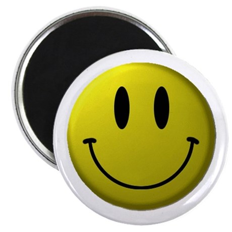 Smiley Face Magnet