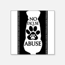 No Excuse for Abuse Sticker