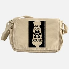 No Excuse for Abuse Messenger Bag