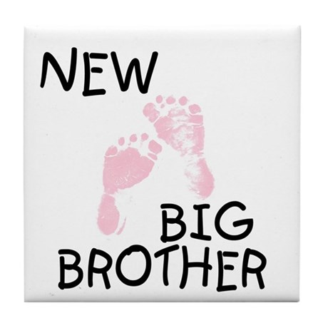 New Big Brother (pink) Tile Coaster