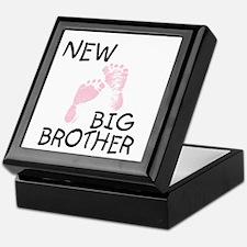 New Big Brother (pink) Keepsake Box