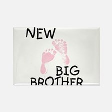 New Big Brother (pink) Rectangle Magnet