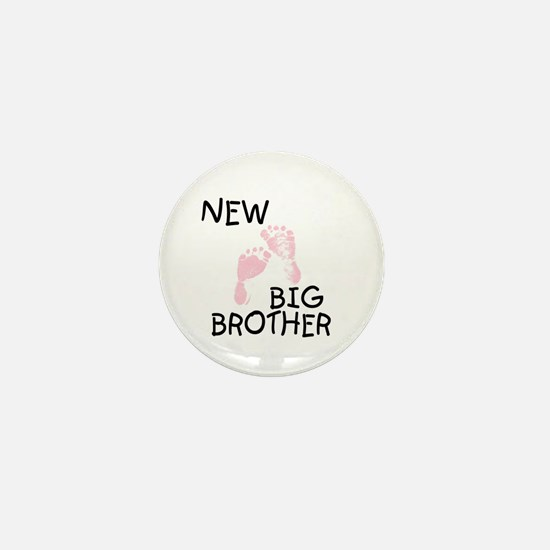 New Big Brother (pink) Mini Button