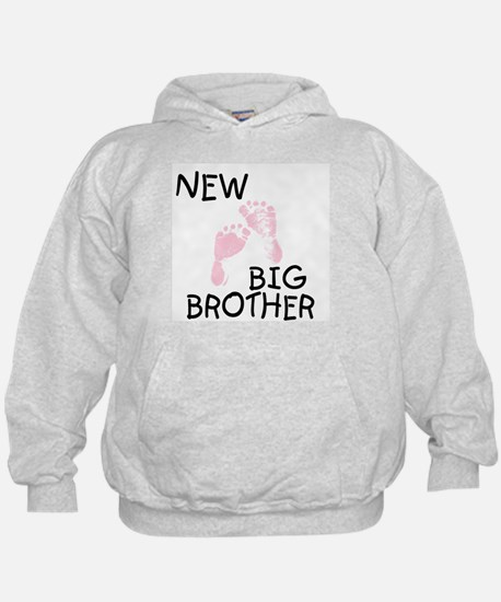 New Big Brother (pink) Hoodie