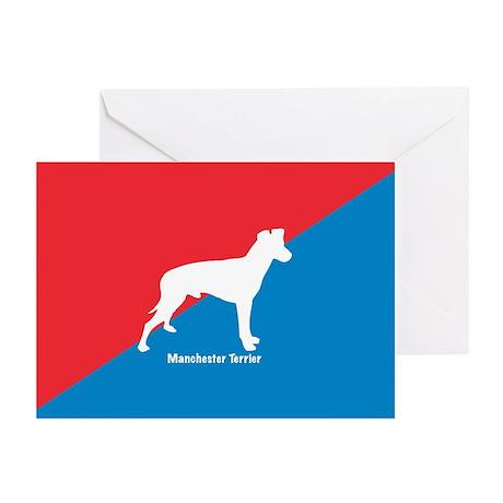 Manchester Diagonal Greeting Cards (Pk of 10)
