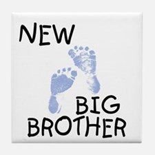New Big Brother (blue) Tile Coaster