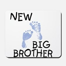 New Big Brother (blue) Mousepad