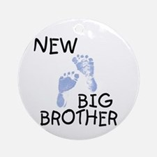 New Big Brother (blue) Ornament (Round)