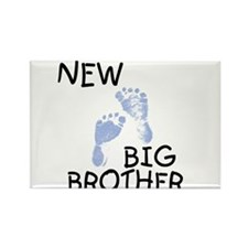 New Big Brother (blue) Rectangle Magnet