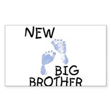 New Big Brother (blue) Rectangle Decal
