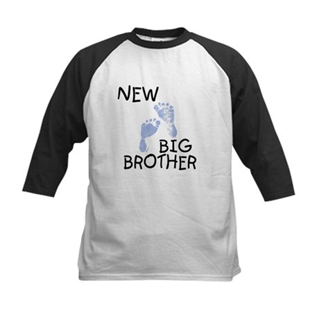 New Big Brother (blue) Kids Baseball Jersey