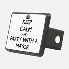 Keep Calm and Party With a Mayor Hitch Cover