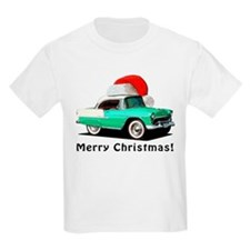 BabyAmericanMuscleCar_55BAXmas_green T-Shirt