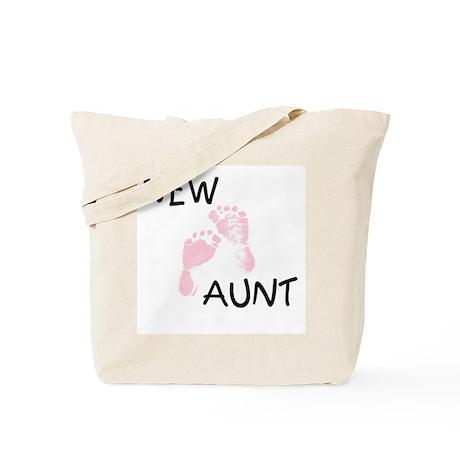 New Aunt (pink) Tote Bag