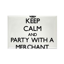 Keep Calm and Party With a Merchant Magnets