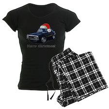 BabyAmericanMuscleCar_67_Cam_Xmas Pajamas