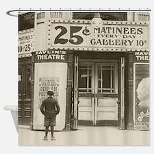 Havlins Theatre, 1910 Shower Curtain