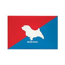 Norfolk Diagonal Rectangle Magnet (100 pack)