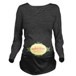 Twas the Night Christmas Long Sleeve Maternity T-S