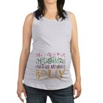 Massive Belly Maternity Tank Top
