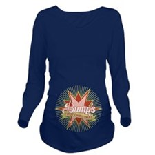 Retro Bumps First Christmas Long Sleeve Maternity