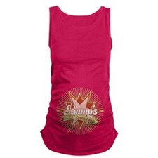 Retro Bumps First Christmas Maternity Tank Top