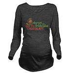Forget Fruitcake Long Sleeve Maternity T-Shirt