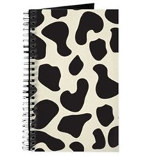 Cow Skin Cow Pattern Journal
