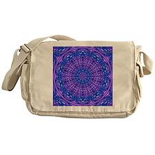 Ripple Effect (Purple) Messenger Bag