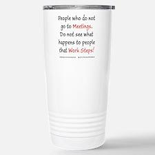 Work Steps Travel Mug
