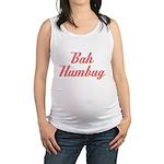 Bah Humbug Maternity Tank Top