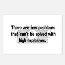 High Explosive Solutions Postcards (Package of 8)