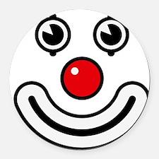 Clown / Payaso / Bouffon / Buffon Round Car Magnet